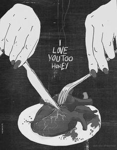 #dark #love (happy valentines day!)