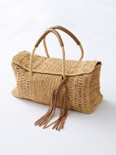 Crochet Handbags, Wicker Baskets, Decor, Studio, Crochet Pouch, Baskets, Tejidos, Tricot, Crochet Purses