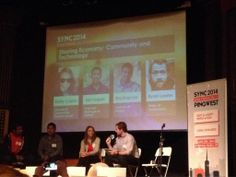 Great session by AirBnB, Lyft, Fitmob, and TechCrunch!!!! #konekoinUS #SYNC2014