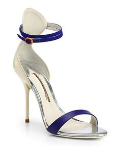 SOPHIA WEBSTER Nicole Mixed-Media Sandals