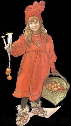 Carl Larsson:  Brita (1853-1919)