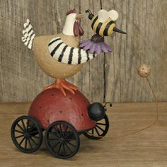 American Folk Art, Collectibles and Figurines from Williraye Studio