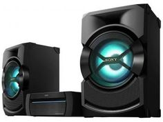 Mini System Sony Leitor de DVD Função Karaokê - Dj Effect com USB MP3 e Bluetooth Shake X-3D