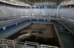 Rio Olympic venues are abandoned just 6 months after the games - Business Insider Olympic Venues, Olympic Games, Rio Olympics 2016, Summer Olympics, Abandoned Buildings, Abandoned Places, Haunted Places, Places Around The World, Around The Worlds