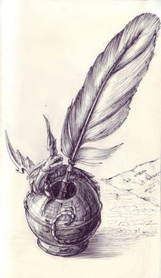 inkwell_and_quill_by_liziel-d3fsfae.jpg (452×778)