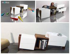 Mobiletto in-bilico presentato per Porada Forniture Award 2012