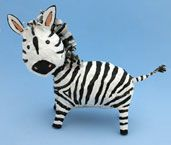 zebra craft from www.daniellesplace.com