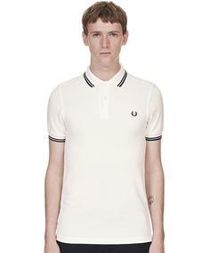 The Twin Tipped Fred Perry Shirt. The has slightly slimmer proportions than our original tennis shirt, with neat cuffs and collar. Fred Perry Polo Shirts, Fred Perry Shirt, Celebrity Closets, Celebrity Style, Twin Tips, Tennis Shirts, Tennis Fashion, Shirts