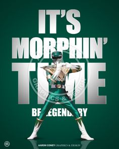 Legendary Mighty Morphin' Green Ranger #SonGokuKakarot