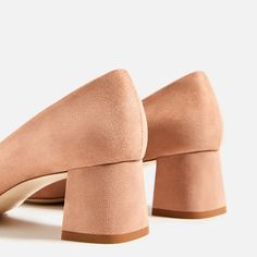 Image 5 of HIGH HEEL SHOES WITH BOW DETAIL from Zara