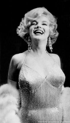 """Marilyn Monroe arrives at the New York premiere of """"Some Like It Hot, March 1959."""