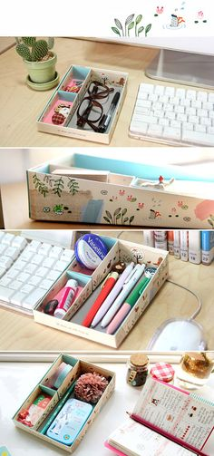 Easy DIY Scrapbook Storage Box