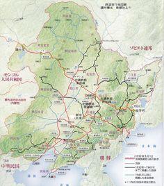 満鉄路線図
