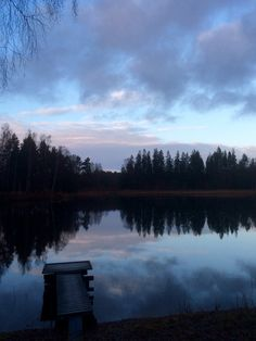 Evening in Sweden.