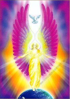 """L'Energia curativa dei fiori: """"Ipomea bianca con l'Arcangelo Sandalphon"""" Angel Images, Angel Pictures, Entertaining Angels, Angel Readings, Garden Angels, Goddess Art, Angels And Demons, Black Women Art, Oracle Cards"""