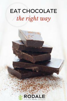 Chocolate can be health food, as long as you're making smart choices about the type you pick.