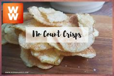 How To Make No Count Crisps! Better Than Kettle Chips! ~ A Life Of LovelyA Life Of Lovely Kettle Chips, Low Fat Snacks, Simply Filling, Veggie Recipes, Ww Recipes, Vegetarian Recipes, Join Weight Watchers, Weigh Watchers, Weight Watcher Dinners