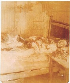 Photo of Jack the Ripper victim, Mary Jane Kelly.