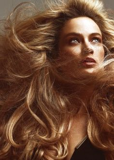 Carolyn Murphy by Patrick Rogers for Allure Magazine (April Carolyn Murphy, Wind In My Hair, Long Locks, Beautiful Women, Classy, The Incredibles, Glamour, Hair Styles, Hair Plait Styles