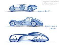 Bugatti Type 57 Evoluzione concetto