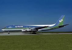 Air Florida- DC-8 in September 1997 in Miami