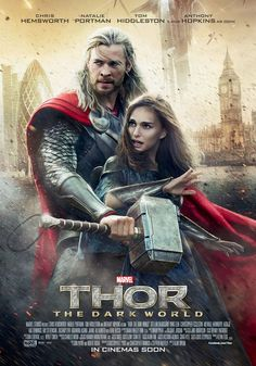 Thor: The Dark World is a 2013 American superhero film based on the Marvel Comics character Thor, produced by Marvel Studios and distributed by Walt Disney Studios Motion Pictures. It is the sequel to Thor and the eighth film in the Marvel Cinematic. Thor 2, Films Marvel, Marvel Heroes, Marvel Dc, Alan Taylor, Dark Kingdom, Jane Foster, Watch Thor, Chris Hemsworth Thor