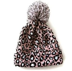 Leopardo Cappelli Invernali - 2 Variants Pom Pom Winter Hat