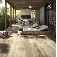 exterior Design Modern - Terrace outdoor living inspiration bycocoon com Outdoor Areas, Outdoor Rooms, Outdoor Decor, Outdoor Tiles, Indoor Outdoor, Villa Design, Modern House Design, Design Hotel, Design Design
