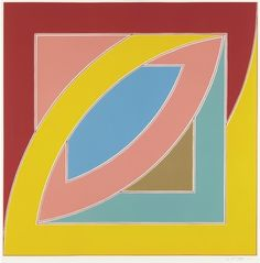 Frank Stella (American, born 1936) Title: Newfoundland series: River of Ponds II, 1971 Medium: Prints and multiples, lithograph in colors, on special Arjomari paper, with full margins Edition: 78 + 10 APs Size Notes: I. 32 x 32 in. (81.3 x 81.3 cm); S. 38 x 38 in. (96.5 x 96.5 cm)