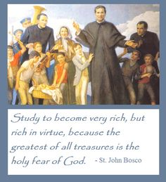 St John Bosco Quotes On Education. QuotesGram. Proverbs 10:22 The blessing of the LORD brings [true] riches, And He adds no sorrow to it.