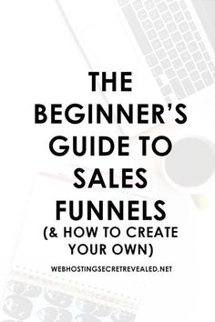 The Beginner's Guide To Sales Funnels (& HOW TO CREATE YOUR OWN). Learn how to boost your sales with these tips! sales funnel book on how to create good working sales funnels Digital Marketing Strategy, Sales And Marketing, Internet Marketing, Online Marketing, Social Media Marketing, Affiliate Marketing, Content Marketing, Business Marketing, Marketing Ideas