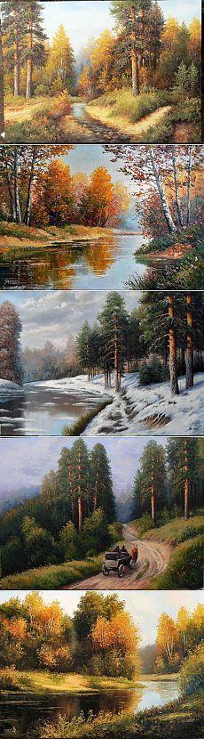 """Peisaje Yanulevich Ghenadie (119 lucrari), """"Picturi, artiști, fotografi Nevsepic"""