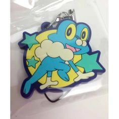 Pokemon Center 2014 Froakie Movie Version Rubber Strap