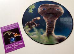 E.T. The Extra-Terrestrial Original Motion Picture Soundtrack LP Picture Disc Vinyl Record, MCA Records - MCA-6113, 1982, Original Pressing