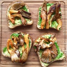 Chili (Gochujang) Mushroom and Avocado Toastie Recipe by gingerandchorizo on #kitchenbowl