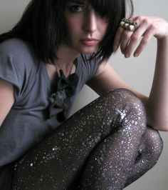 {Constellation leggings} bring the stars down to you