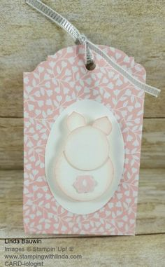 Earn $100 in Free Stampin' Up! Product of your choice during my countdown to the First Million Dollar Linda With Stampin' Up! Linda Bauwin CARD-iogist Helping you create cards from the heart. unny Treat Bag Linda Bauwin