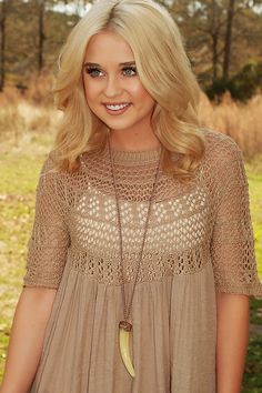 Have It Your Way Necklace: Gold/Cream #shophopes