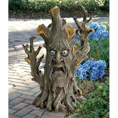 Design Toscano Bark the Black Forest Ent Tree Statue  Wouldya just lookit that face
