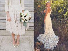 Boho Bride | Boho Bridal Gown | Bridal Crochet Dress | Crochet Wedding Dress | Vestido de Noiva de Crochê Crochet | Vestido de Noiva Hippie blogdamariafernanda.com