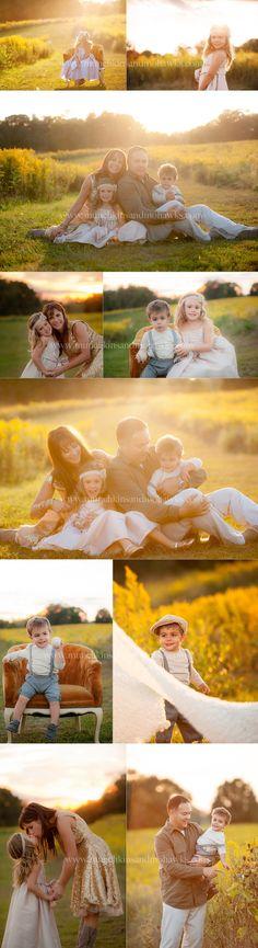 family posing www.munchkinsandmohawks.com