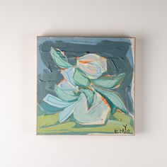 Emily+Ozier+Floral+On+Wood+VI+Painting+-+Exotic+and+bold,+EMYO's+work+in+florals+makes+a+statement+in+any+home.+An+ideal+choice+for+welcoming+in+a+pop+of+eye-catching+color,+her+modern+take+on+traditional+botanicals+is+an+edgy,+beautiful+choice+for+every+space.  Learn+more+about+the+art+and+life+of+Emily+Ozier+on+our+blog Not+your+style?+Much+of+our+canvas+art+is+purchased+immediately+by+customers+and+designers+on+our+mailing+list+as+soon+as+it+arrives.+Be+the+first+to+know+when+canvas+ar...