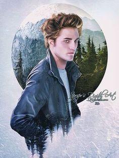 Sometimes I can't handle how hot Edward Cullen is. Twilight Edward, Twilight Saga Quotes, Twilight Saga Series, Twilight New Moon, Twilight Series, Twilight Movie, Twilight 2008, Robert Pattinson Twilight, Pinturas Disney