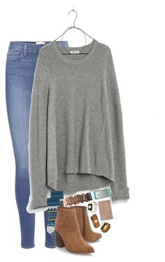 """""""comment yalls spotifys🤑🤑"""" by elizabethannee ❤ liked on Polyvore featuring Paige Denim, Madewell, Free People, Nine West, Kate Spade, Urban Decay, LifeProof, Chan Luu and Vanessa Mooney"""