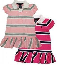 Ralph Lauren Baby Girl's Striped Rugby Dress « Clothing Impulse