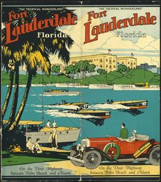 """Cover spread, """"The tropical wonderland"""", Fort Lauderdale, Florida Roaring 20's"""