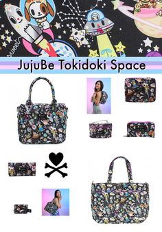 Jujube Tokidoki Space Place - get your fix with bags, wallets, backpacks and more! #jujube