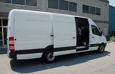 Hanvey Sprinter Expediter Vans on Sprinter Van for freight haulers by Hanvey Engineering & Design, LLC