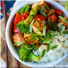 Crispy pan-fried tofu is tossed in a sweet chili-lime sauce with fresh basil to make this flavorful Thai inspired stir-fry.