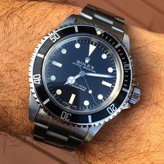 Fancy Watches, Modern Watches, Sport Watches, Vintage Watches, Luxury Watches, Rolex Watches, Watches For Men, Rolex 5513, Rolex Submariner